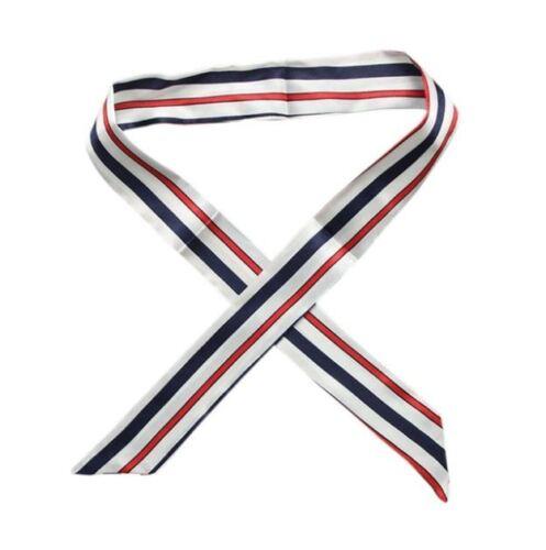 Twilly Tuch Seidentuch Tasche Schal Satin Band Haarband Schleife Griff Halstuch
