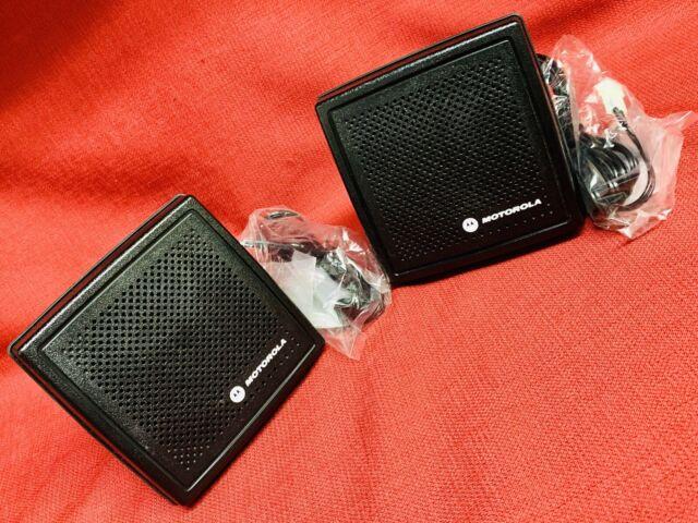 Motorola HSN4032B External Speaker 13w 2 Pin Connector for sale online