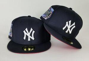 4ff76f5b70b New Era MLB Navy New York Yankee 59Fifty Subway Series Red Bottom ...