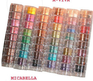 MICABELLA-6x8-Stacks-Eye-Shimmers-Assorted-Beautiful-Colors