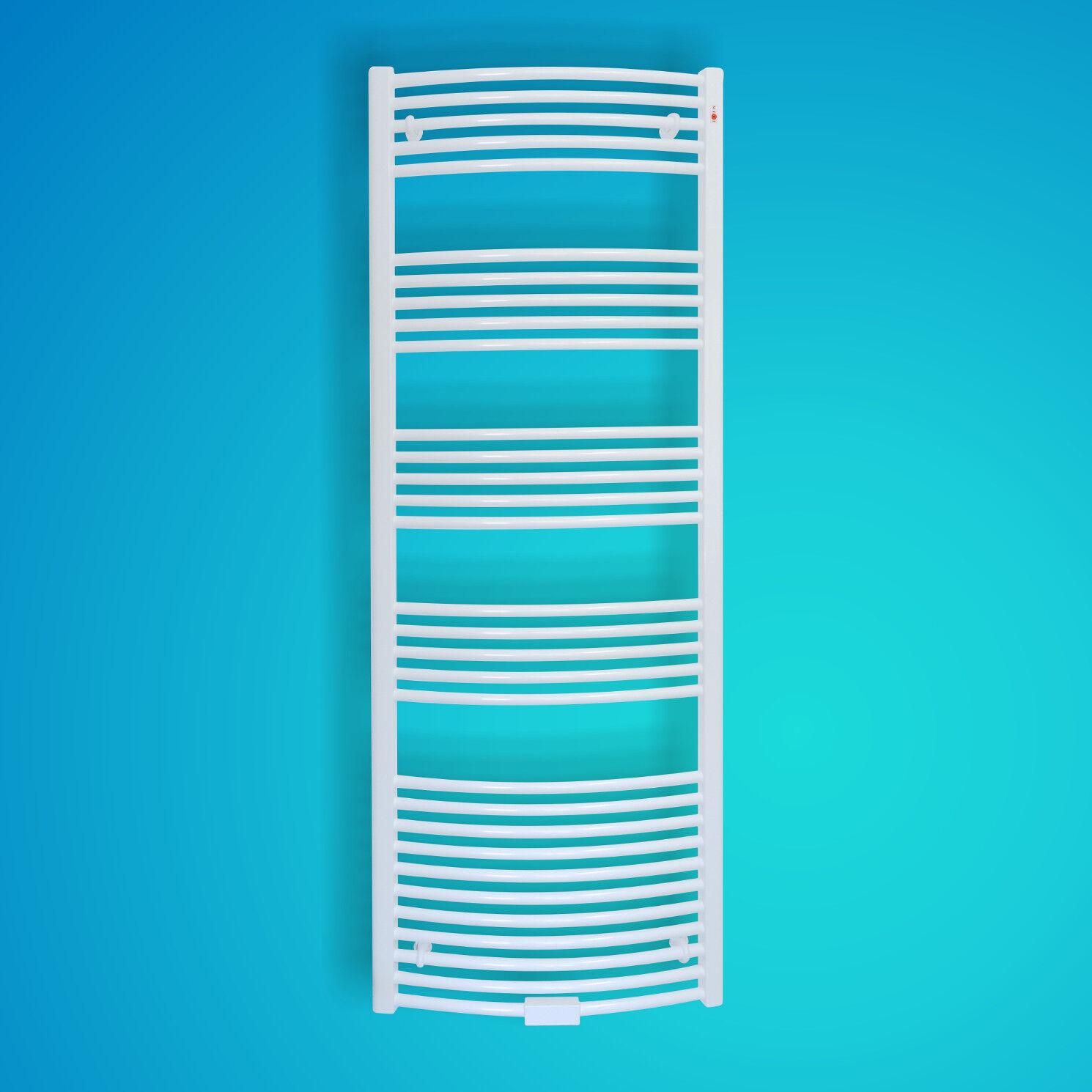 Mert Radiatoren Badheizkörper Heizkörper Standard Weiß gebogen 700 x 1400 mm