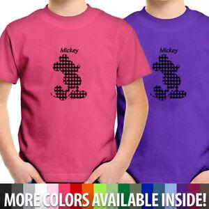 Cute Cartoon Mickey Mouse T Sirt Retro Movie TV T Shirt Kids Unisex Children