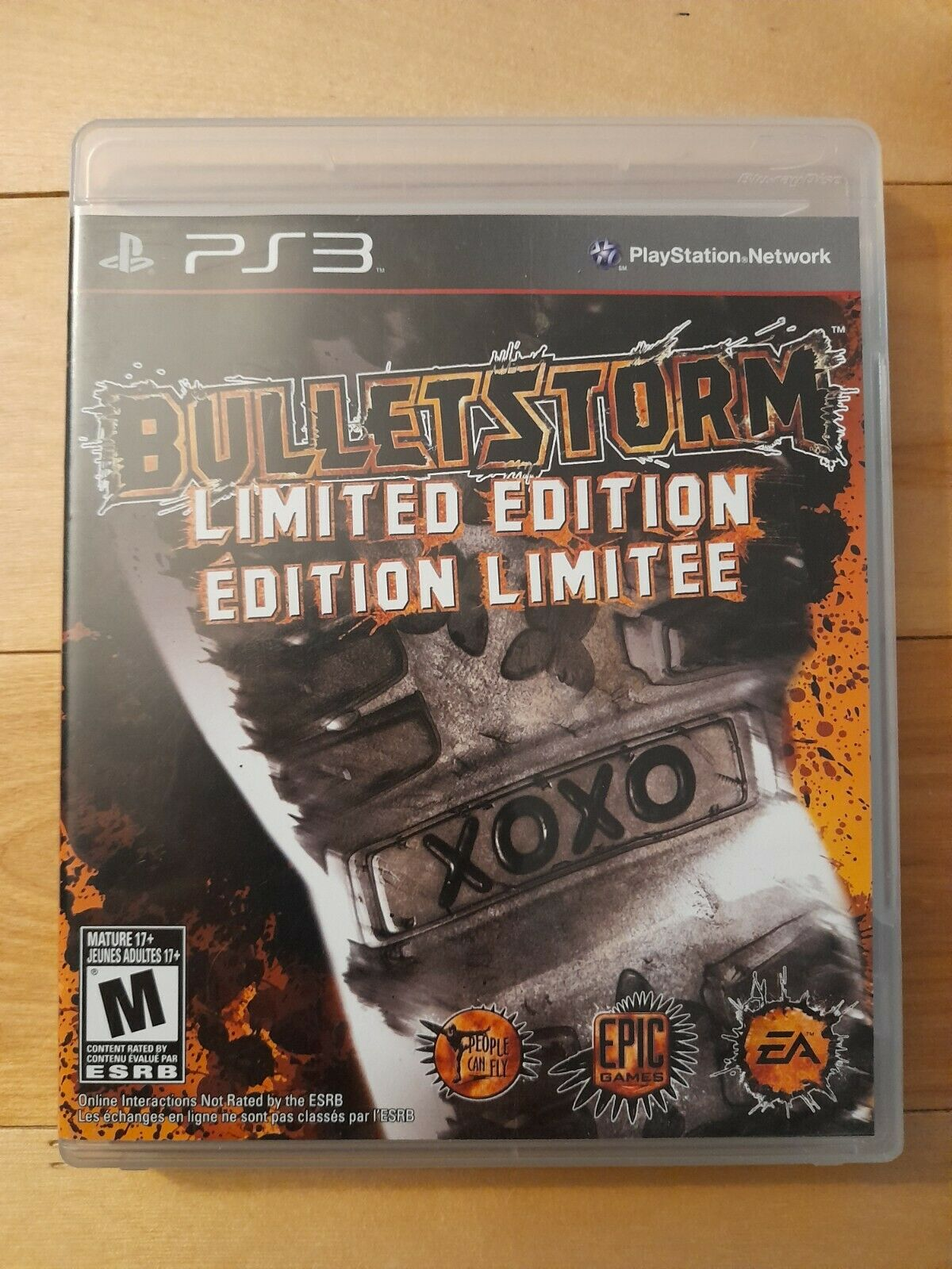 Bulletstorm Limited Edition - PS3 - Complete - Mint