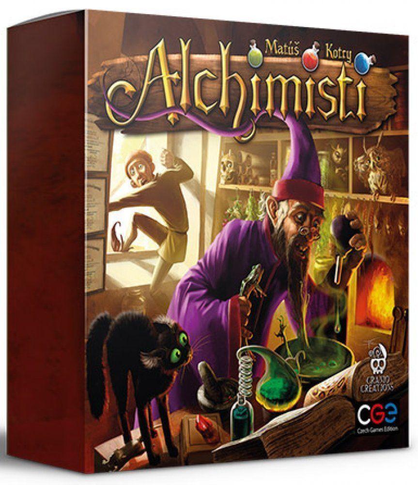 Alchemisten - Spiel aus Tabelle Italienisch Neu by Cranio Creations