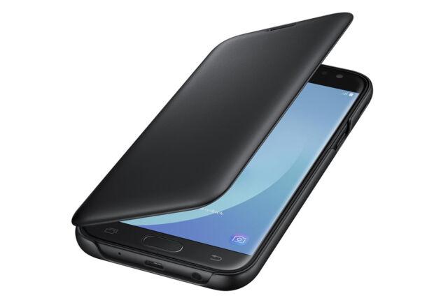 premium selection 78748 affd8 Original Samsung Galaxy J5 2017 J530f Flip Book Cover Case Black