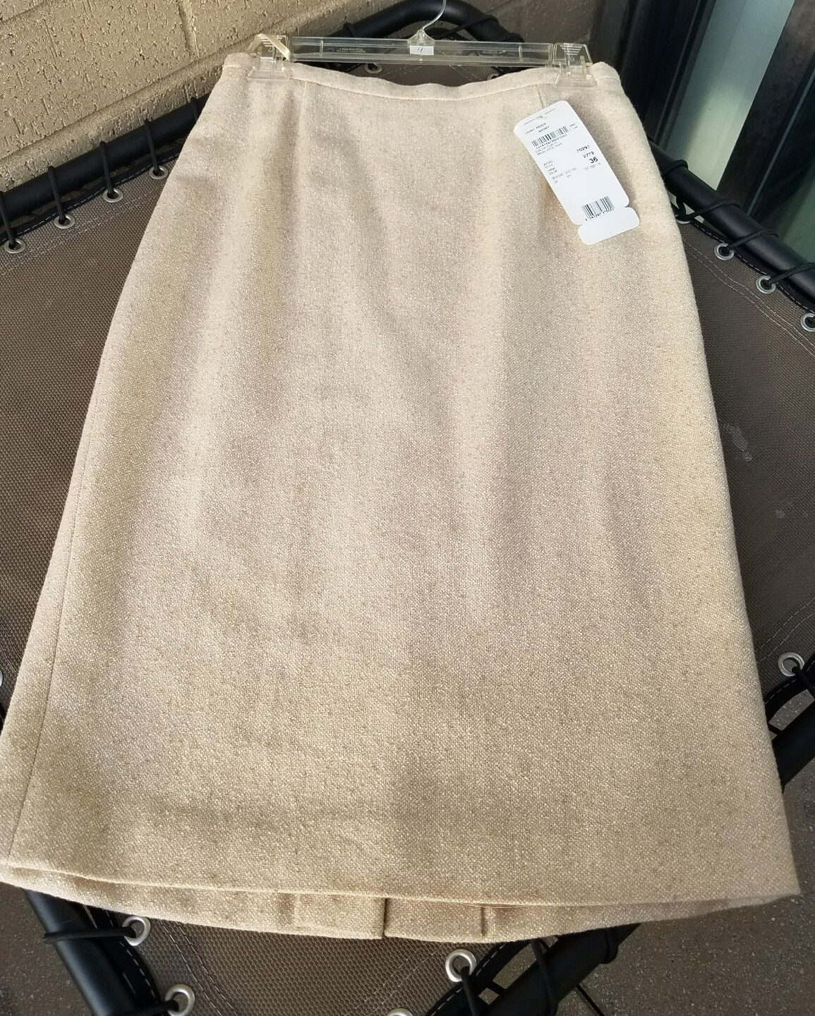ESCADA Skirt Beige color size 36 NWT  Free shipping Sold out