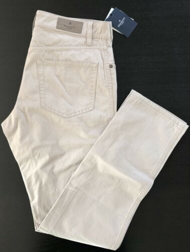 Beige// Outmeal New Size 34R//44R Hackett London Trousers 5Pkt Trinity