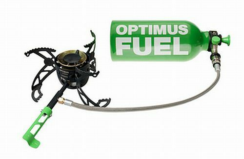Optimus Nova multicombustible Estufa gas no incluido