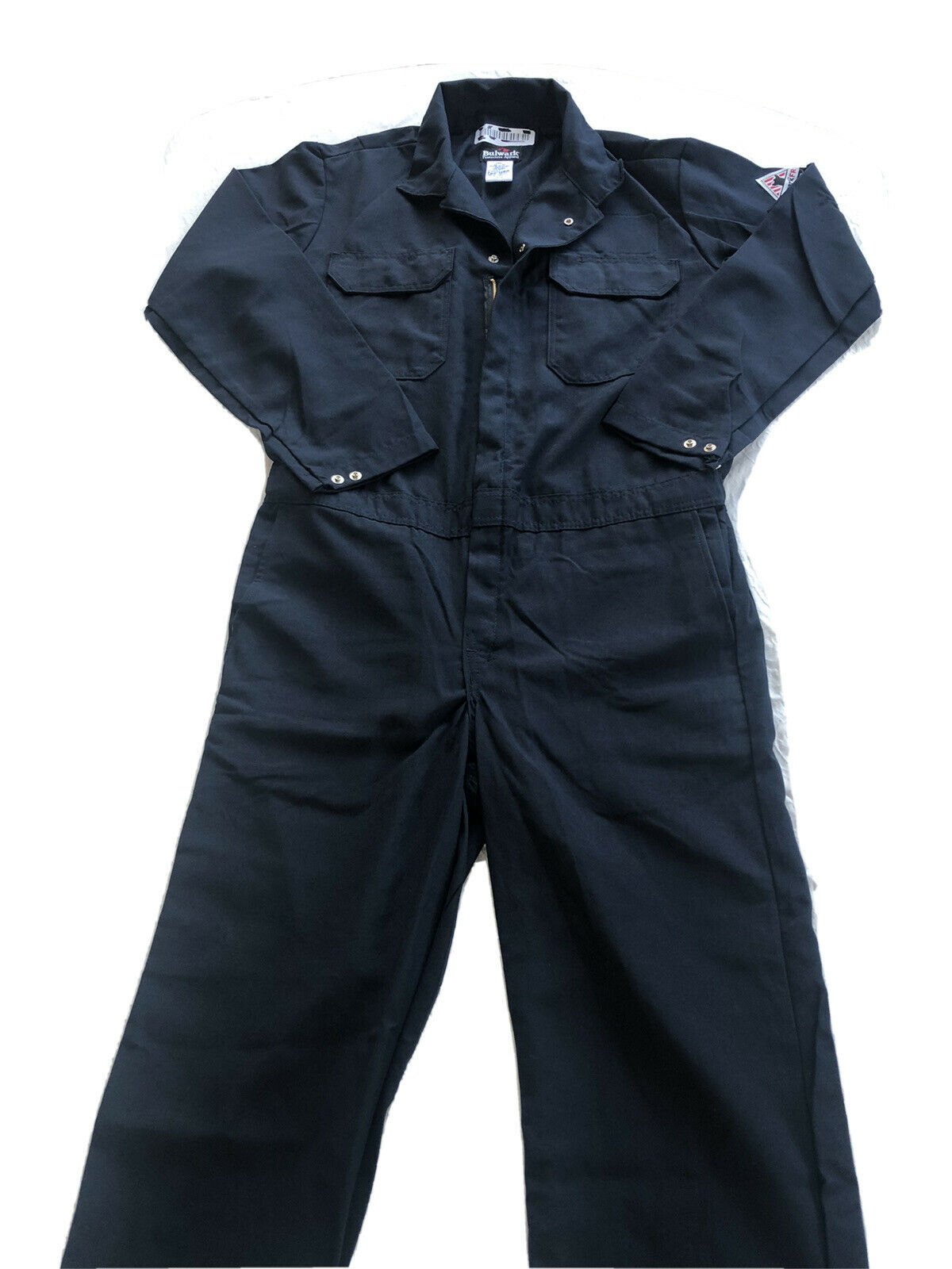Bulwark Men S Navy Premium Nomex Iiia Coveralls Cnb6nv 52 Reg For Sale Online Ebay