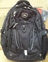 High Sierra Elite Backpack Gray Business Pack For 17 Laptop & Tablet