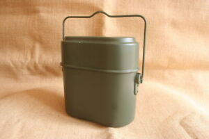 German-BUND-WWII-Style-M31-3-Piece-Mess-Kit-Repro-military-canteen-camping