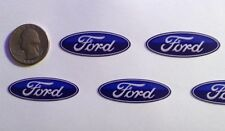 Blue Ford Logo stickers for wheel center cap