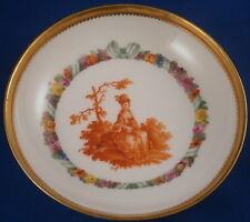 Nice Antique 18thC KPM Berlin Porcelain Scenic Saucer Porzellan Untertasse Scene