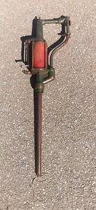 Antique-Bennett-Oil-Pump-Dispenser-Lubester-41-034-Long-505H301