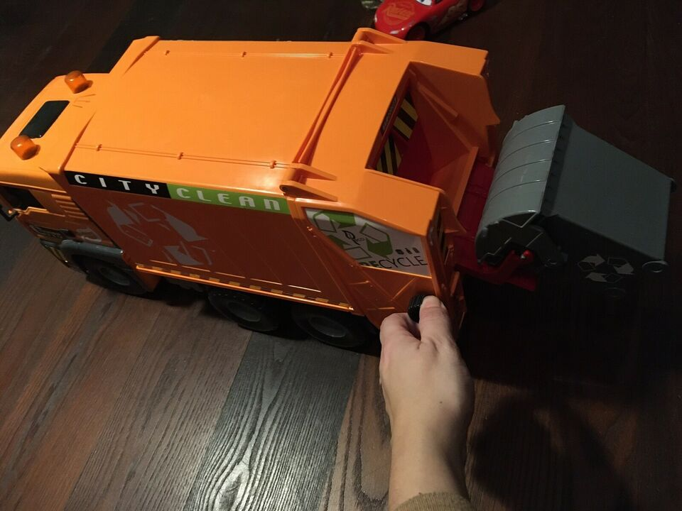 Andet legetøj, Skraldebil, Fra Top Toy