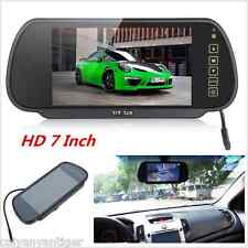 "7"" LCD TFT Color Screen Car Reverse Rear View Backup Camera DVD Mirror Monitor"