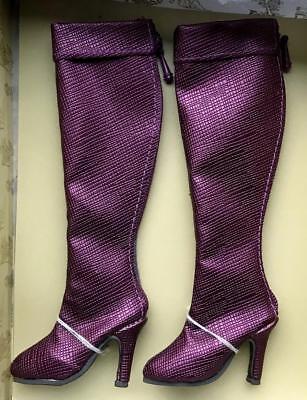 "16/"" Tonner~Ellowyne Wilde~High /& Mighty Boots Purple~New"