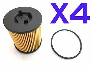 4x-Oil-Filter-Suits-R2591P-HOLDEN-Astra-TS-Barina-Vectra