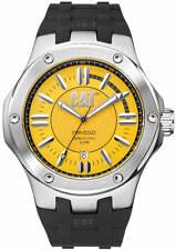 Men's CAT Caterpillar Navigo Black And Yellow Rubber Watch A114121727