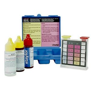 Taylor Basic Dpd Test Kit Test Free Chlorine New K1001