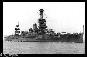USS-Wyoming-AG-17-ex-BB-32-postcard-US-Navy-WWII-battleship-training-ship