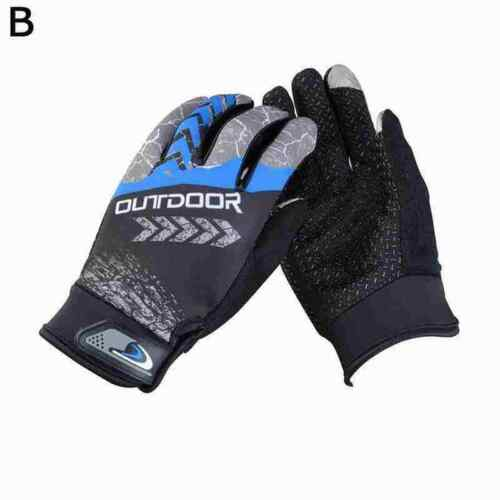 Full Finger Glove Racing Motorcycle Gloves Cycling Bicycle Gloves Mitts MTB C7V1