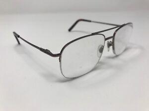 Ducks Unlimited Eyeglass Mcalester Brown Coffee 55 18 140 Half Rim Je58 Ebay
