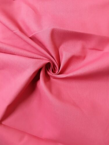 60SQ  100/% COTTON FABRIC OEKO-TEX CRAFTING UNIFORM 54'' WIDE 142CMS