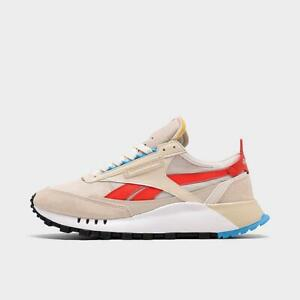 men's reebok classic leather legacy casual shoes alabaster