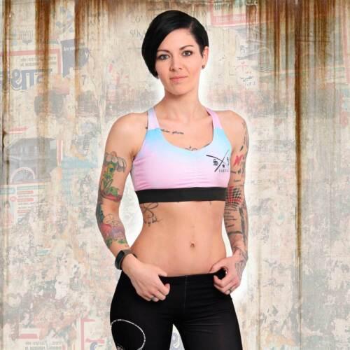 Nuevo señora yakuza s/&f Sports Line Basic bra Sport-BH-multicolor