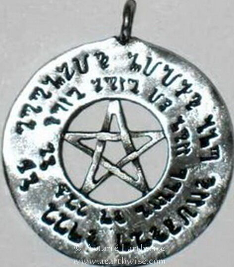 LOVE PENTAGRAM - Wicca Pagan Witch Goth LOVE ATTRACTION WEAR YOUR SPELL MAGIC!