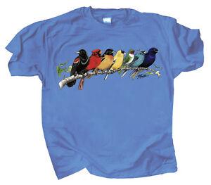 Image Is Loading Songbird Spectrum T Shirt S M L Xl