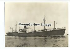 cd0142 - Dutch Rotterdam Lloyd Cargo Ship - Wonosari , built 1952 - postcard