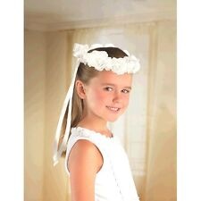 item 6 WEDDING and BRIDAL FLOWER GIRL HEAD WREATH ~ Party Supplies Favors  Floral White -WEDDING and BRIDAL FLOWER GIRL HEAD WREATH ~ Party Supplies  Favors ... 40dee4cff07