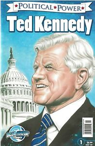 POLITICAL-POWER-TED-KENNEDY-1-NOV-2009-SENATOR-EDWARD-KENNEDY-COMIC-BOOK
