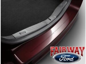 Fairway Ford Parts >> Details About 13 Thru 19 Fusion Oem Genuine Ford Parts Rear Bumper Protector With Logo New