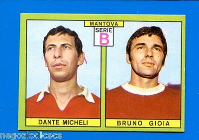 CORSINI FIGURINA CALCIATORI PANINI 1967//68 MANTOVA