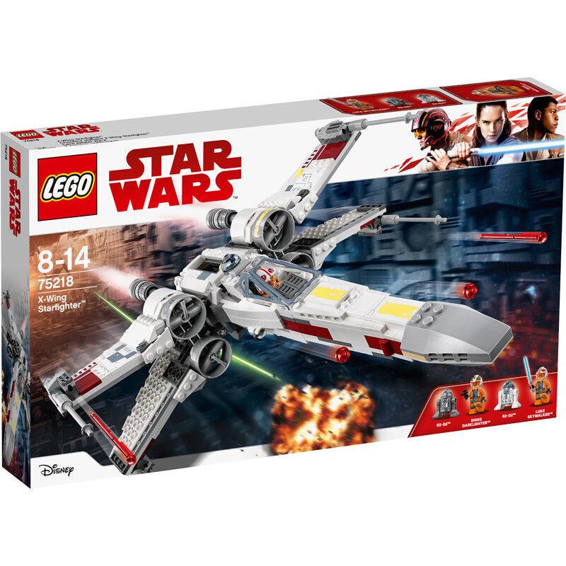 LEGO estrella guerras UNA  NUOVA SPERANZA X-Wing estrellacombatiente è costruzione Set 75218 NUOVI  fabbrica diretta