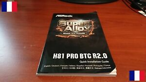 Actif User Manual Asrock H81 Pro Btc R2.0 Rev 2.0 Motherboard Mining Approvisionnement Suffisant