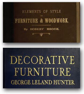 200 Rare Antique Period Furniture Books