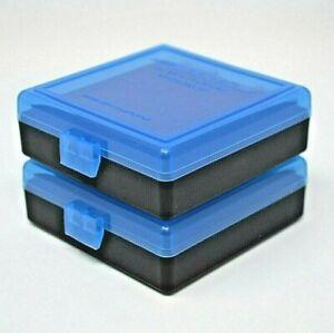 22 lr Ammo Box // Case // Storage 100 CLEAR COLOR .25 ACP Round .22LR