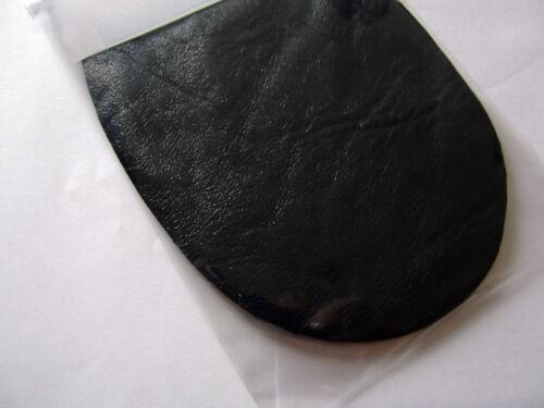 la marina Impresionante Gris Negro Cuero 100/% codo//Parches//Trimmings