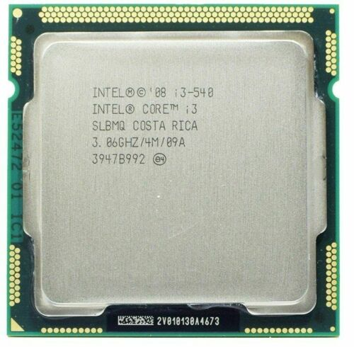 Intel Core i3-540 SLBTD Dual-Core 3.06GHz 4M Socket LGA1156 CPU Processor #SS