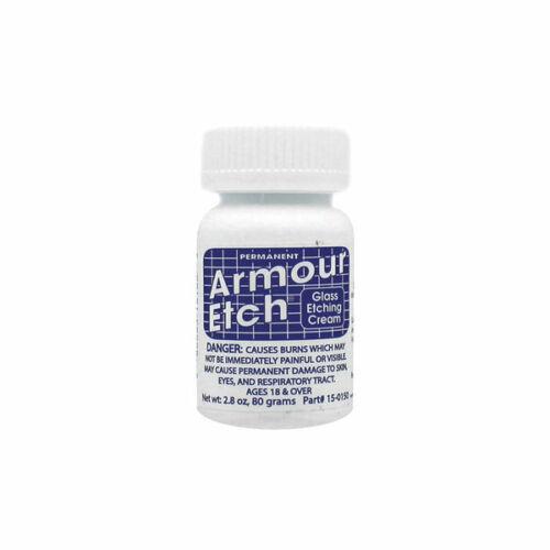cada uno 2.8 onzas 3 X grabado de vidrio Armour Etch ® Crema 80g