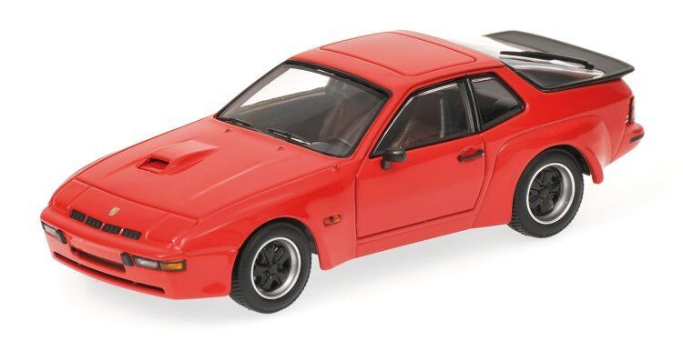 Porsche 924 Carrera Gt 1981 rouge 1 43 Model 400066120 MINICHAMPS