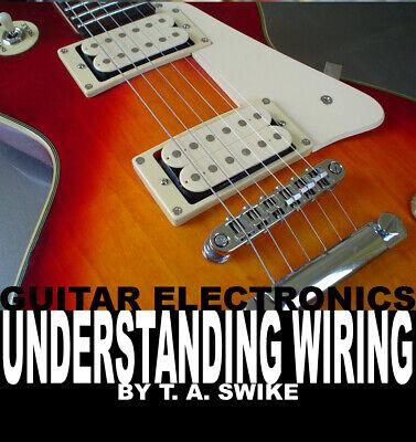 Fender Telecaster Guitar Body Building DIY Unfinished Wiring Kit Book on CD
