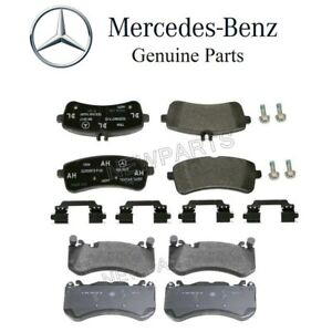 Genuine Mercedes Front /& Rear Brake Pad Set