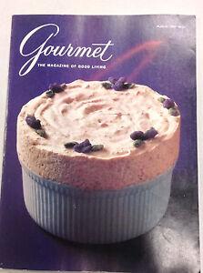 Gourmet Magazine Venetian Lagoon Specialty August 1991 010517R