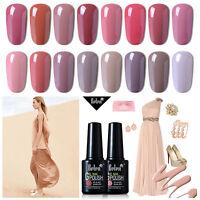 Belen Soak Off Gel Polish Varnish UV LED Nude Color Series Nail Manicure 10ML UK