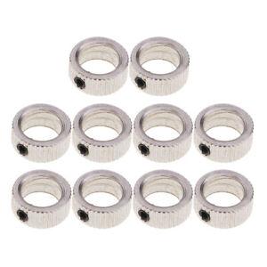 10 Pieces RC Plane Landing Gear Wheel Lock Stop Set Wheel Collars Stopper